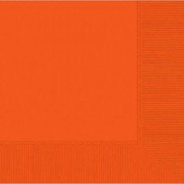 Orange Peel 2-Ply Beverage Napkins, 50ct