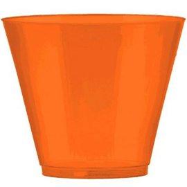BPP Plastic Cup, 9 oz. - Orange Peel. 72ct