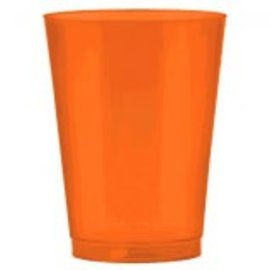 Big Party Pack Plastic Cup, 10 oz. ‑ Orange Peel