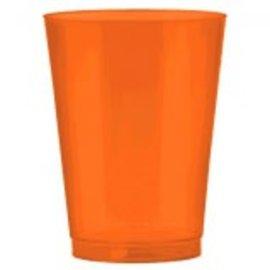 Big Party Pack Plastic Cup, 10 oz. ‑ Orange Peel