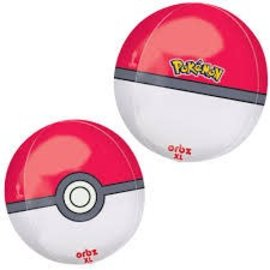 Pokeball Orbz Balloon, 16""