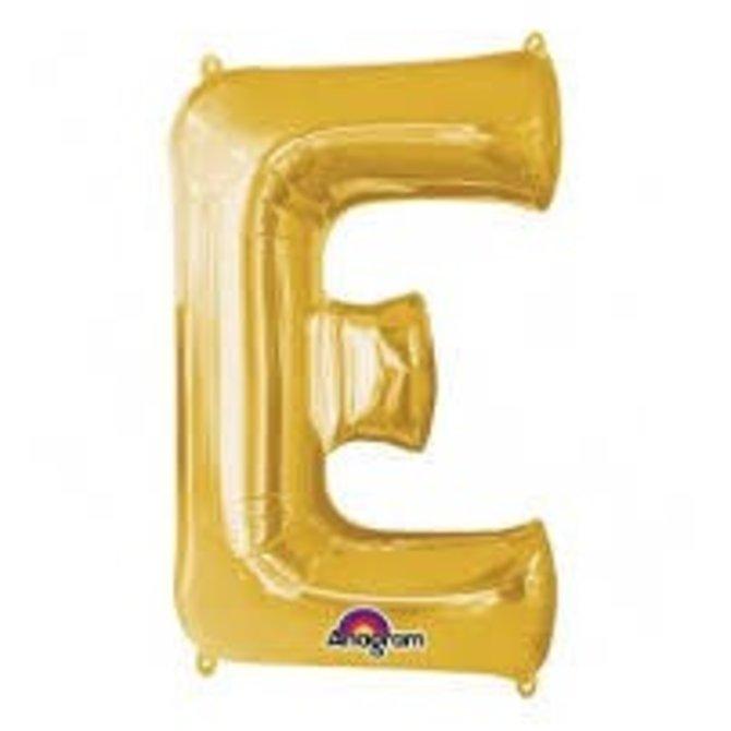 """16"""" Letter E - Gold"""