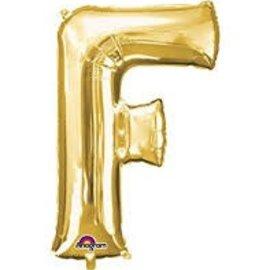"""16"""" Letter F - Gold"""