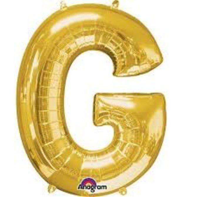 "16"" Letter G - Gold"
