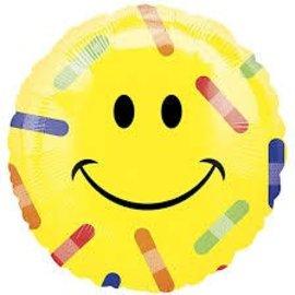 "Get Well Emoji Balloon, 18"" (#121)"