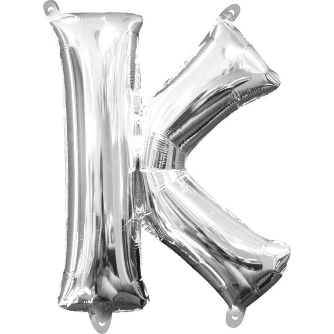 "16"" Letter K - Silver"