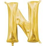 """16"""" Letter N - Gold"""