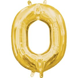 "16"" Letter O - Gold"