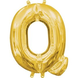 "16"" Letter Q - Gold"