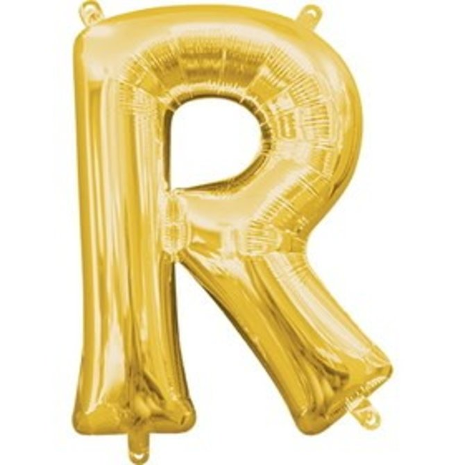 """16"""" Letter R - Gold"""