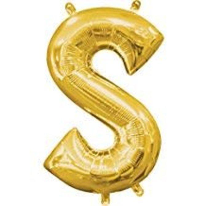 "16"" Letter S - Gold"