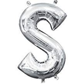 """16"""" Letter S - Silver"""