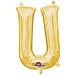 """16"""" Letter U - Gold"""