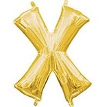 "16"" Letter X - Gold"
