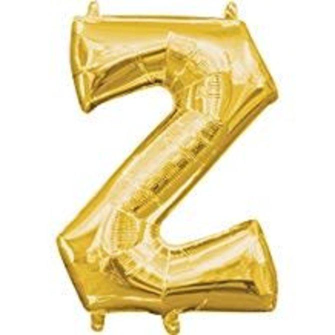 """16"""" Letter Z - Gold"""