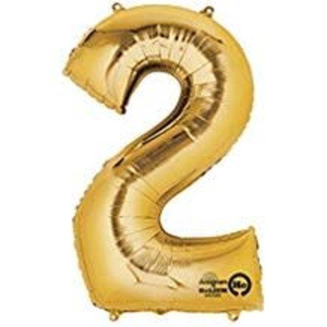 "16"" Number 2 - Gold"
