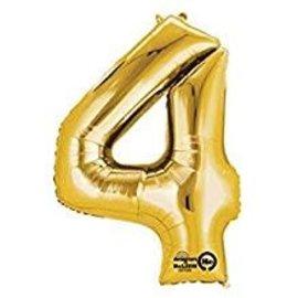 "16"" Number 4 - Gold"