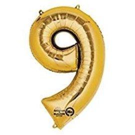 "16"" Number 9 - Gold"