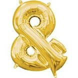 "16"" Symbol Ampersand - Gold"