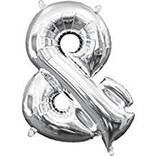 "16"" Symbol Ampersand - Silver"