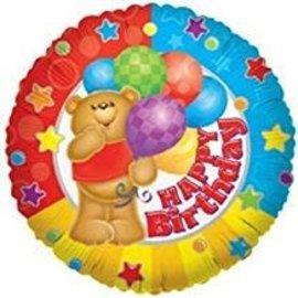 """Happy Birthday Bear, 18"""""""