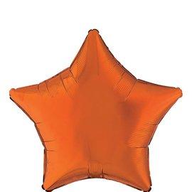 "Orange Star Balloon, 19"""