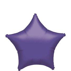 """Purple Star Balloon, 19"""""""