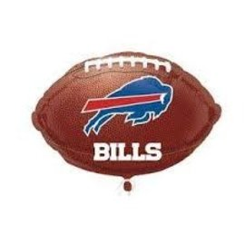 "Buffalo Bills Football Balloon, 18"" (#30)"