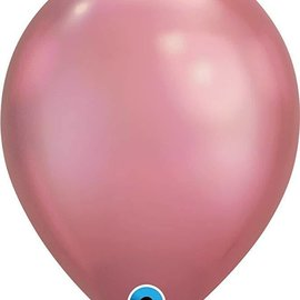 Chrome Mauve- single latex helium filled Pickup or Local delivery only includes Hi- Float