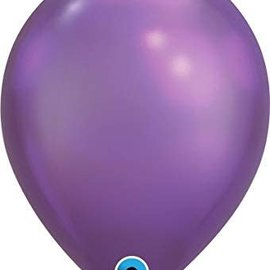 Chrome Purple- single latex helium filled Pickup or Local delivery only Includes Hi- Float