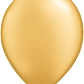 Qualatex Pearl Gold - single latex helium filled Pickup or Local delivery only includes Hi-float