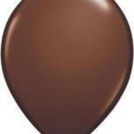Qualatex Brown - single latex helium filled Pickup or Local delivery only includes Hi-float