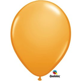 Qualatex Orange - single latex helium filled Pickup or Local delivery only includes Hi-float