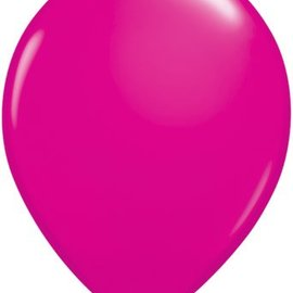 Qualatex Wild Berry - single latex helium filled Pickup or Local delivery only includes Hi-float