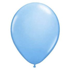 Qualatex Pale Blue  - single latex helium filled Pickup or Local delivery only includes Hi-float