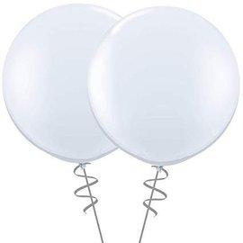 2FT Round White  Latex