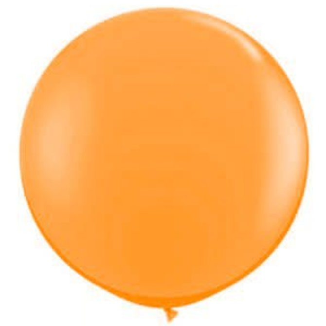 2FT Round Orange  Latex