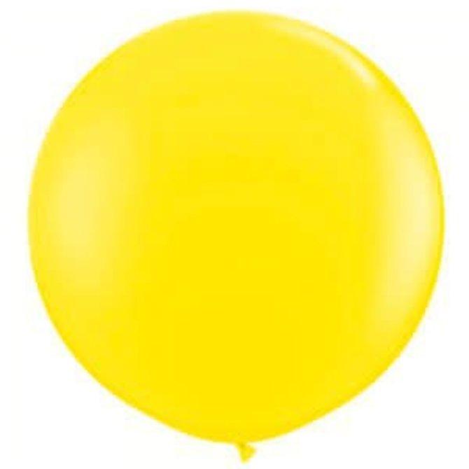 2FT Round Yellow  Latex