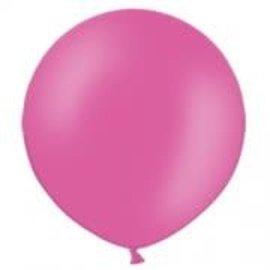 2FT Round Bright Pink  Latex