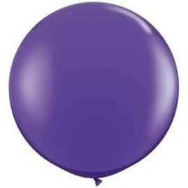 2FT Round Purple  Latex