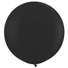 2FT Round Black  Latex