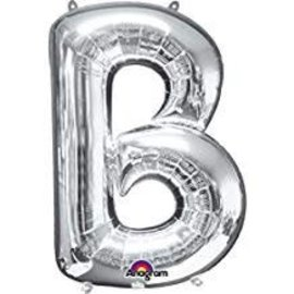"34"" LETTER B SILVER"