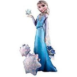 57'' Elsa The Snow Queen Airwalker