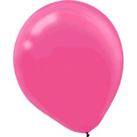 Bright Pink Latex Balloons - Packaged, 72ct