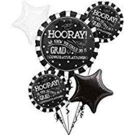 Hooray Grad Foil Bouquet