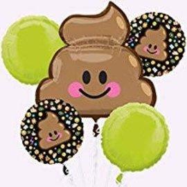 Poop Emoji Bouquet