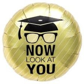 """Now Look at You Grad Balloon, 18"""""""