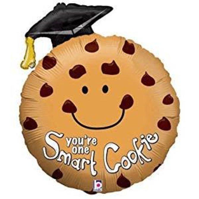 "Smart Cookie Grad Balloon, 29"""