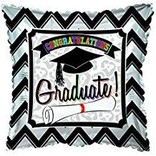 Congratulations Graduate Square Balloon, 18""