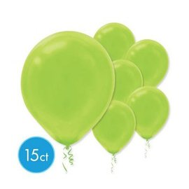 Kiwi Solid Color Latex Balloons - Packaged, 15ct